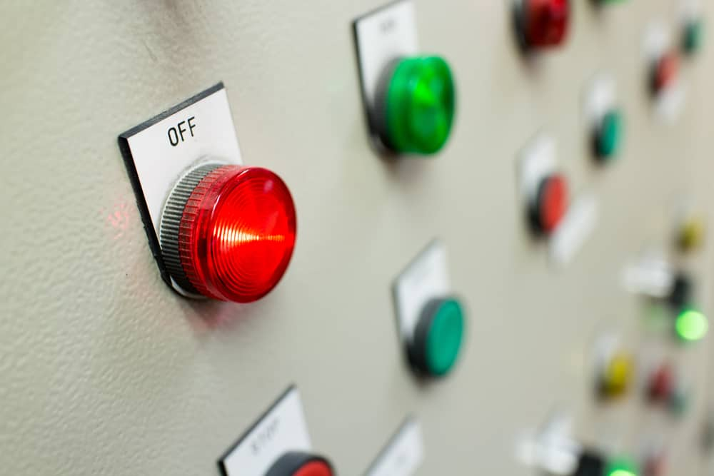 Fire Control Panel Buttons - East Coast Fire and Safety
