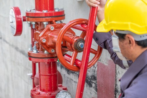 mains water fire suppression system fire protection australia